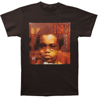 Nas Men's  Illmatic Cover T-shirt Black