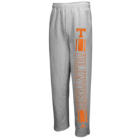 adidas Tennessee Volunteers Last Leg Fleece Sweatpants - Ash