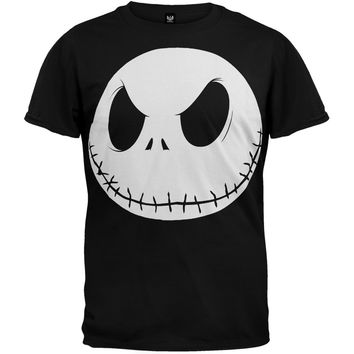 Nightmare Before Christmas - Fat Head Soft T-Shirt