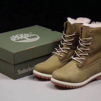 timberland 17467 winter women boots color green
