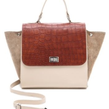 ONE by Michaella Barri Collection Colorblock Satchel | SHOPBOP