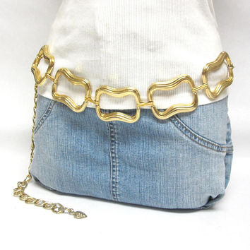 Chunky Gold Chain Belt Day-Lor