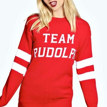 Alice Team Rudolph Christmas Jumper