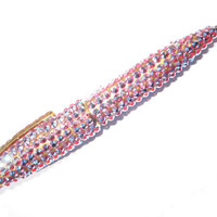Rhinestone Pen in Iridescent Pink  Ready To Ship by mauddesign