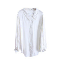 Lop Sided Button Blouse