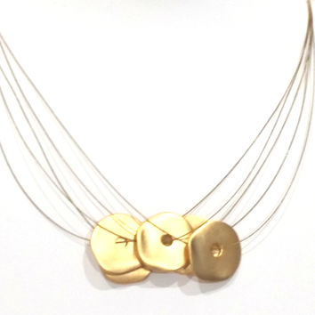 Orly Multi-Disc Necklace