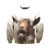 Goat Sweatshirt - READY TO SHIP