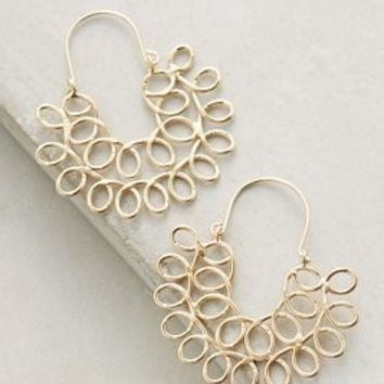Ceres Hoops by Anthropologie in Gold Size: One Size Earrings