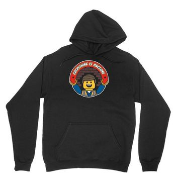 everything is awesome   mens funny lego Unisex Hoodie