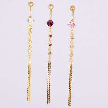 Tassels Accessory Hot Sale Navel Rings [7857398599]