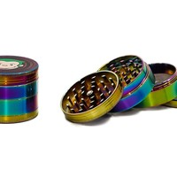 Green Monkey Rainbow Chrome Grinder