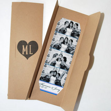Eco Chick Photobooth Photo-Strip Picture Holders Wedding Party Favor