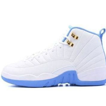 Air Jordan 12 Retro 'university Blue' Bg