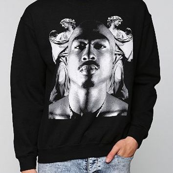 Tupac Angel Pullover Sweatshirt  - Urban Outfitters