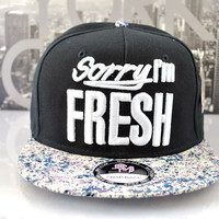 SORRY IM FRESH SNAPBACK