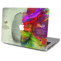 2016 Creative Left&Right Brain Vinyl Decal Laptop Sticker Full Skin for Macbook