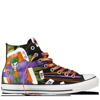 Converse - All Star DC Comics- The Joker - Hi - Black/Purple
