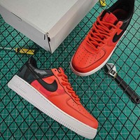 Nike Air Force 1 Low  07 LV8 Premium Rouge Habanero Red Fashion Shoes - Best 50c195cfe