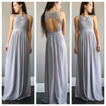 An Enchanted Maxi in Silver