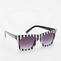 Quay Bold Stripe Cat-Eye Sunglasses- Black One