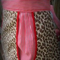 Patricia Pleat Full Apron - Holiday from Zeeuh