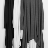 Cupshe Cape A Secret Irregular Cardigan
