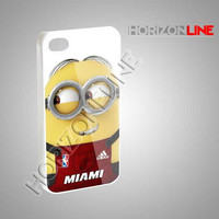 Dave With Miami Heat Jersey - iPhone 4/4s/5 Case - Samsung Galaxy S3/S4 Case - Black or White #iPhone #iPhone4/4S #iPhone5 #Samsung #Samsung