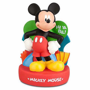 disney parks mickey mouse hi ya pal plastic coin bank new