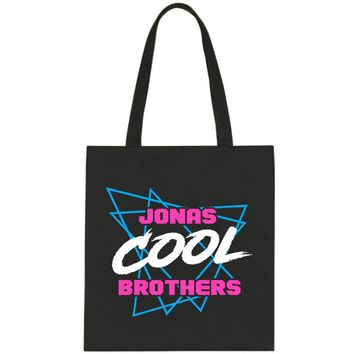 "Jonas Brothers ""Cool"" Triangles Tote Bag"