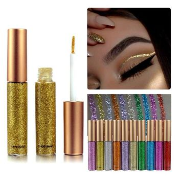 10 Colors Natural Shining Liquid Eyeliner