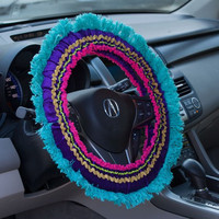 Fringe Steering Wheel Cover