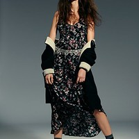 Intimately Womens Secret Garden Printed Maxi