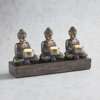 Buddha Multiple Tealight Candle Holder
