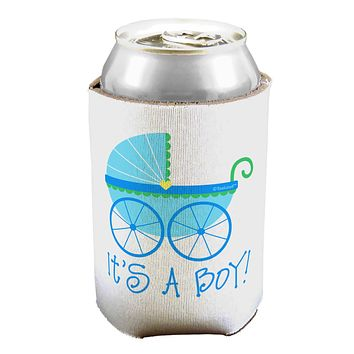 It's a Boy - Baby Boy Carriage Can / Bottle Insulator Coolers