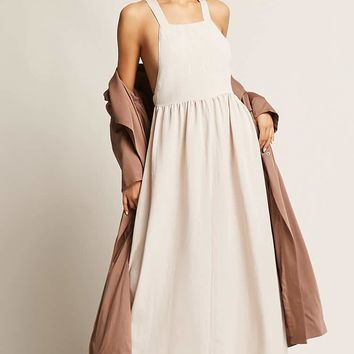 Toby Heart Ginger Crisscross Maxi Dress