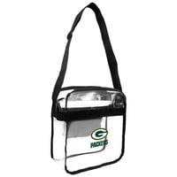 Green Bay Packers NFL Clear Cross-Body Carry-All