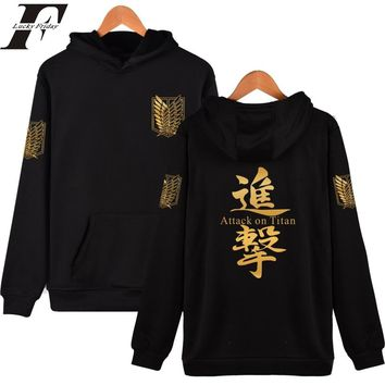 2017 Harajuku hoodie tumblr sweatshirt men women Attack On Giant Print Hoodie Japanese tracksuit Hip hop attack on titan Clothes