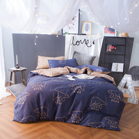Beary Cute - Bear Print Bedding Set