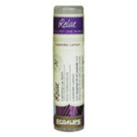Eco Lips One World Lip Balms Relax, Lavender Lemon 0.25 oz. tubes