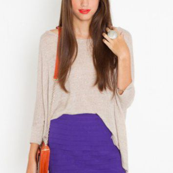 Tiered Chiffon Skirt - NASTY GAL