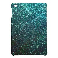 Blue/Green Glitter Print Sparkle iPad Mini iPad Mini Cases from Zazzle.com
