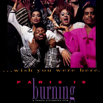 Paris Is Burning 27x40 Movie Poster (1990)