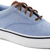Sperry Top-Sider Striper CVO Chambray Sneaker BlueChambray, Size 8M  Men's Shoes