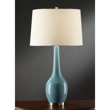 Crestview Collection Nina Blue Table Lamp