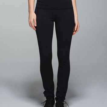 Skinny Groove Pant II *Full-On Luon (High Rise)