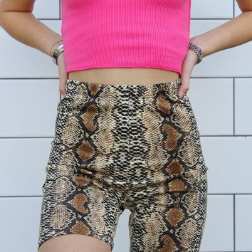 """""""Welcome to the Jungle"""" Biker Shorts"""