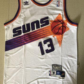 be1f5d4d51e Phoenix Suns  34 Steve Nash Hardwood Classics Men Basketball Jer
