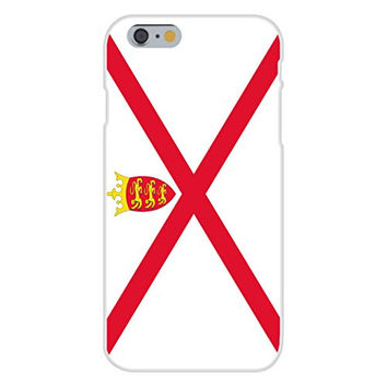 Apple iPhone 6 Custom Case White Plastic Snap On - Jersey - World Country National Flags