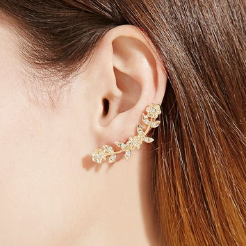 Flower Ear Pin Set