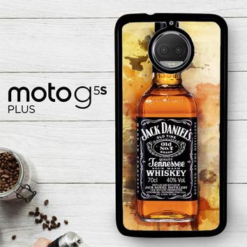 Jack Daniels Drinks W4917  Motorola Moto G5S Plus Case